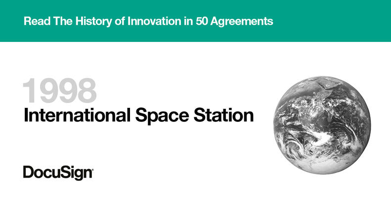 History of Innovation - International Space Station