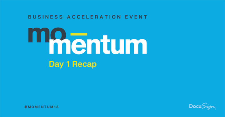 The business acceleration event of the year kicked off yesterday. With day 1 wrapped, we're counting down the top 10 moments from Momentum 2018.