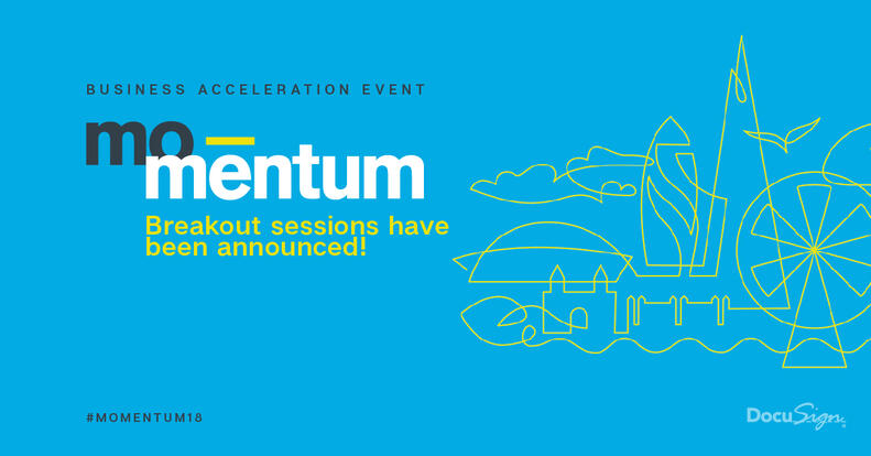 Momentum London's breakout sessions are an opportunity for our experts and customers to give insight into topical business issues. See what's in store.