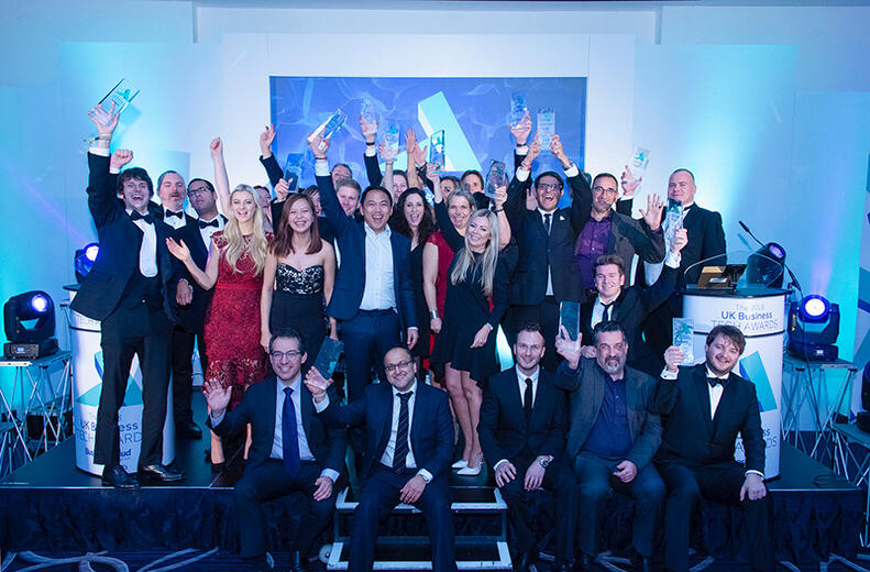 It was an unforgettable night as the country's best tech companies walked away with the spoils at BusinessCloud's inaugural UK Business Tech Awards.