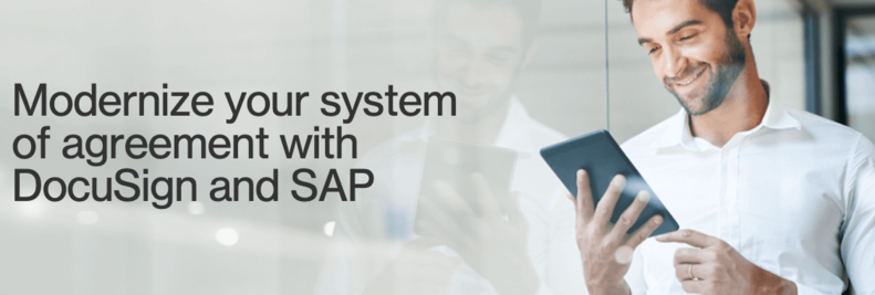modernise your system of agreement with DocuSign and SAP