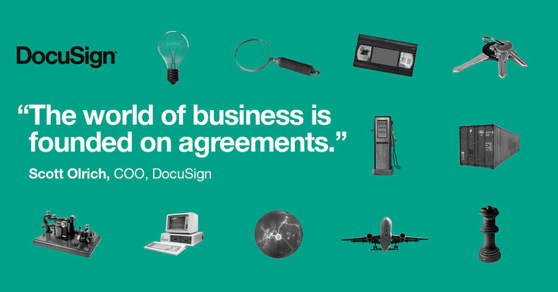DocuSign History of Innovation in 50 Agreements