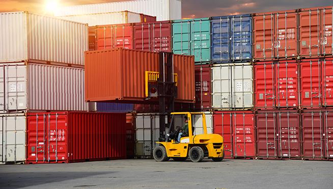 Container Cargo ship and Cargo