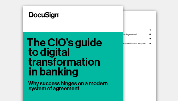 The CIO's guide to digital transformation in banking