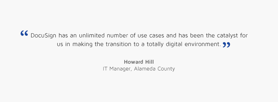 Howard Hill, Alameda County quote