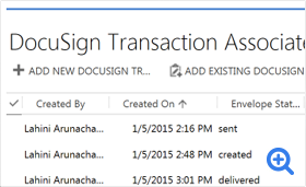 DocuSign for Dynamics 365 CRM   DocuSign