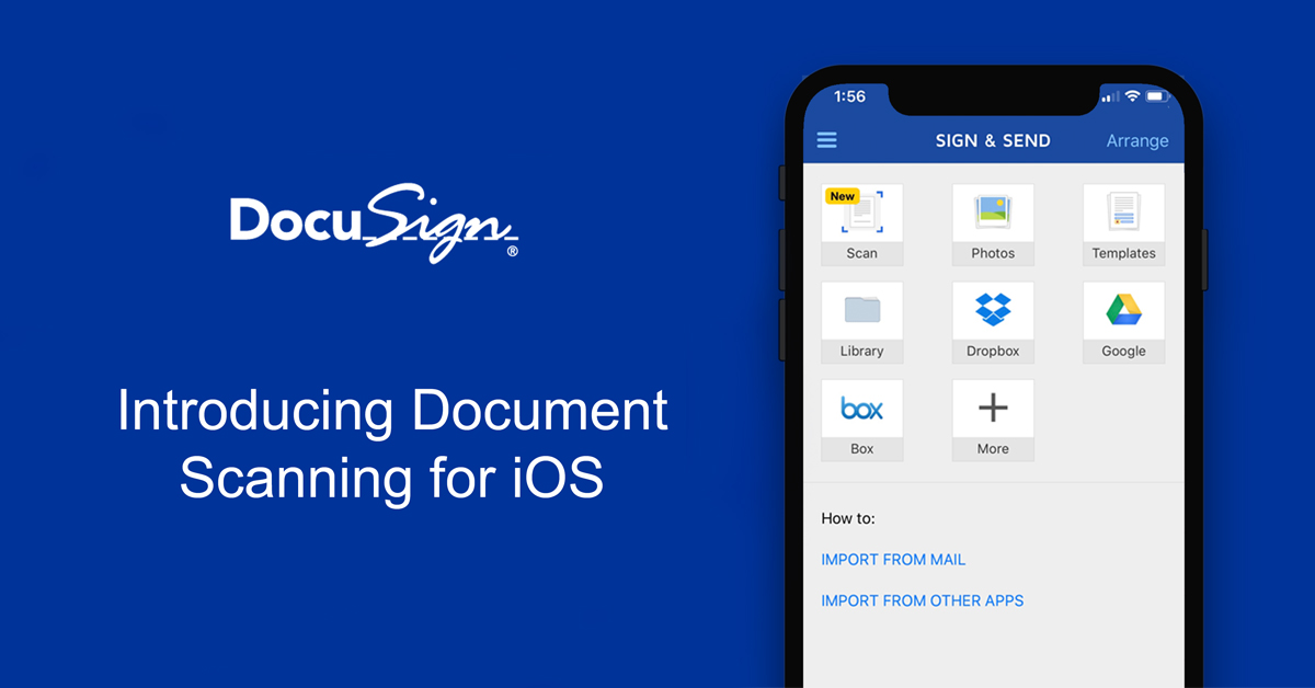 Free Electronic Signature App | DocuSign Mobile