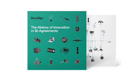 The History of Innovation in 50 Agreements