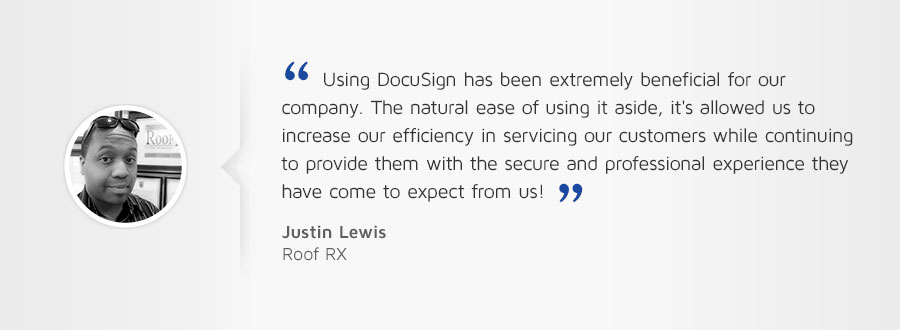 Roofing business testimonial
