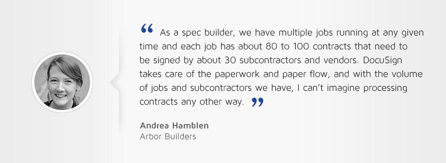 Spec builder customer testimonial