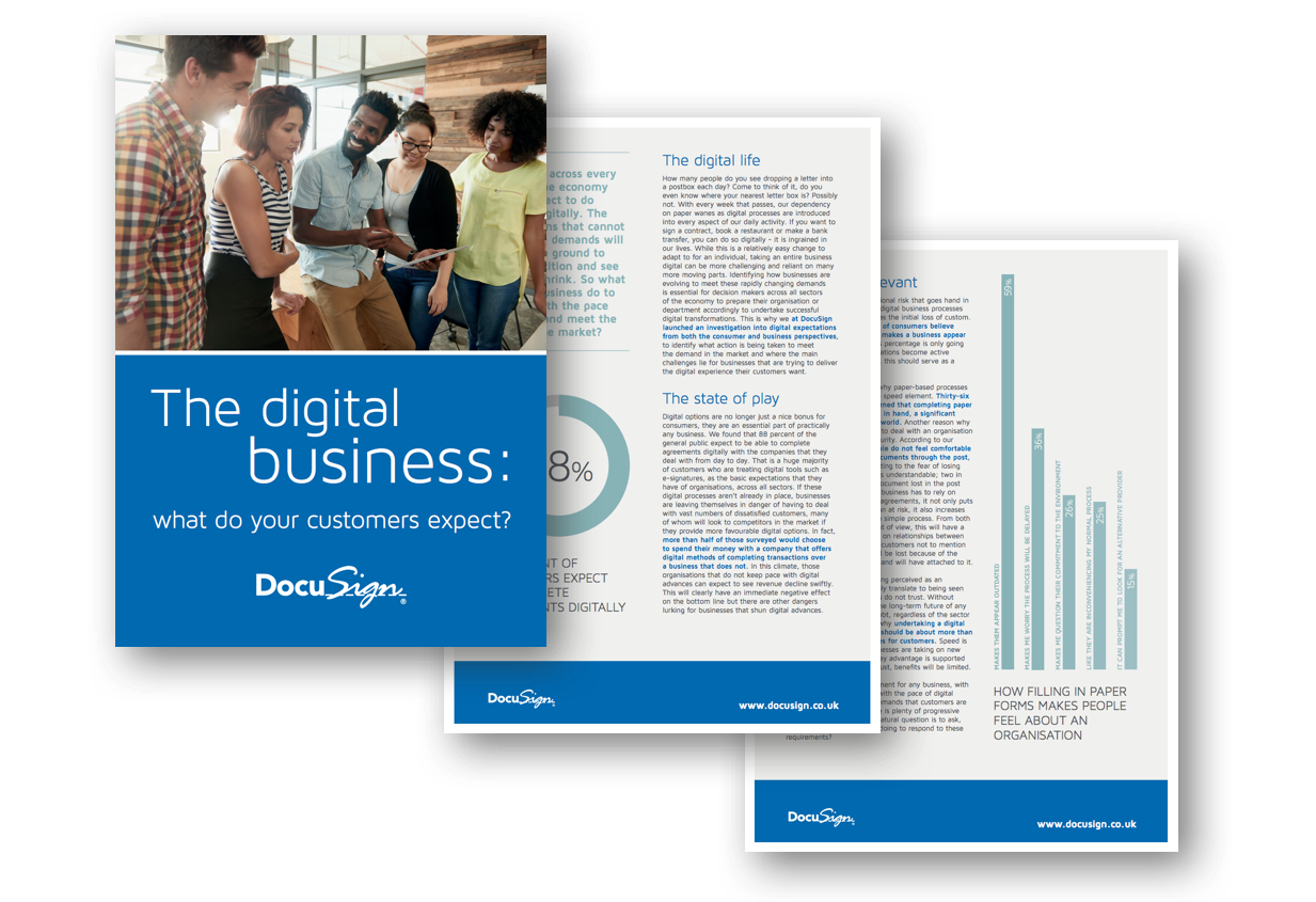 Consumers across every sector of the economy simply expect to do business digitally. The organisations that cannot meet these demands will rapidly lose ground to the competition and see revenues shrink.