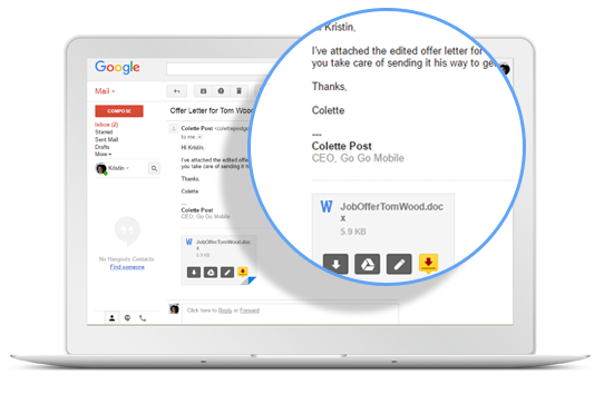 DocuSign for Gmail
