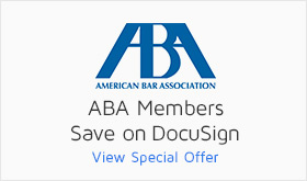 DocuSign discount for American Bar Association members