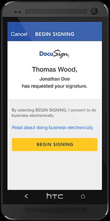 DocuSign Mobile SDK