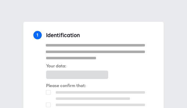 Screenshot showing authentication methods for AES/QES with DocuSign Identify.