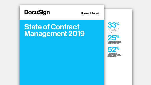 Download the 2019 State of Contract Management report
