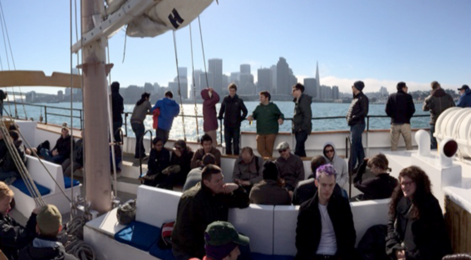 Sailing the high seas with the tech team