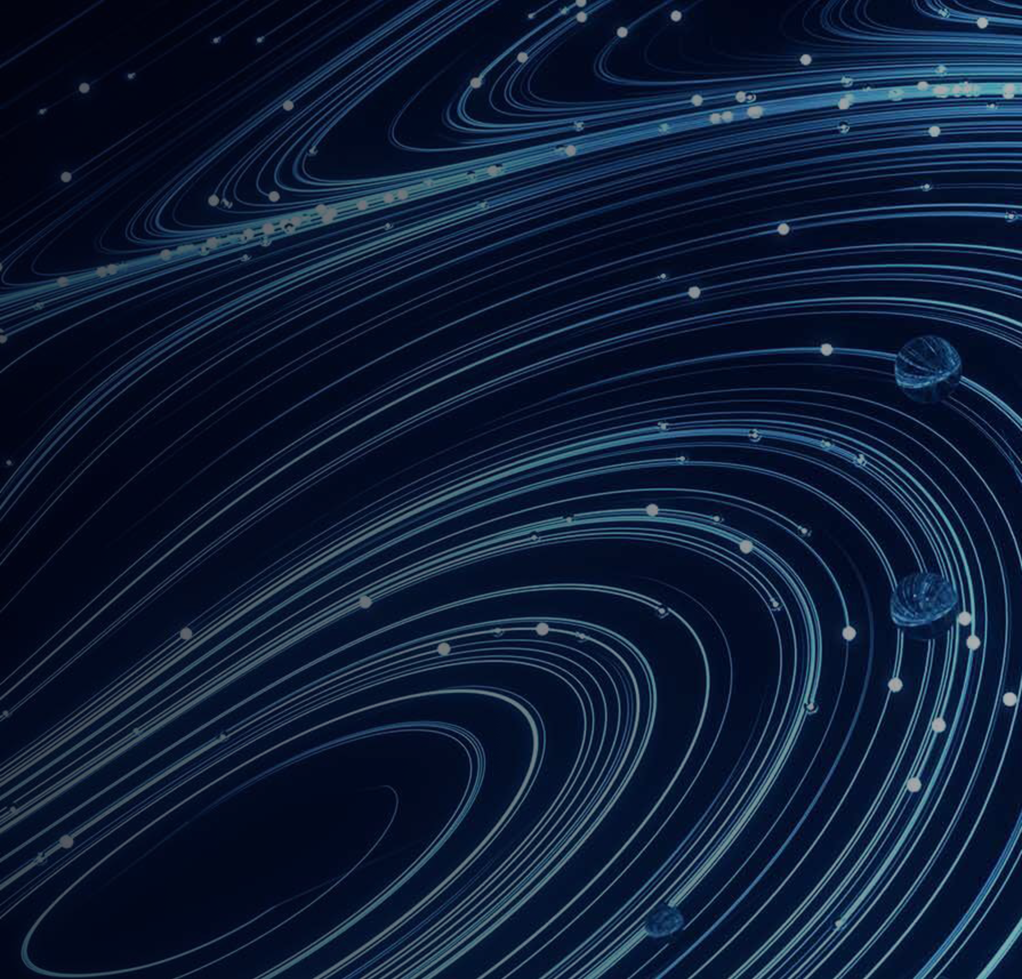 An abstract image of lines flowing to represent enterprise security.