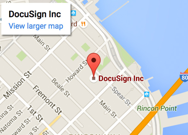 Contact DocuSign: Phone Numbers & Locations