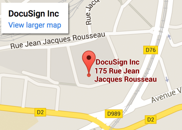 DocuSign Paris