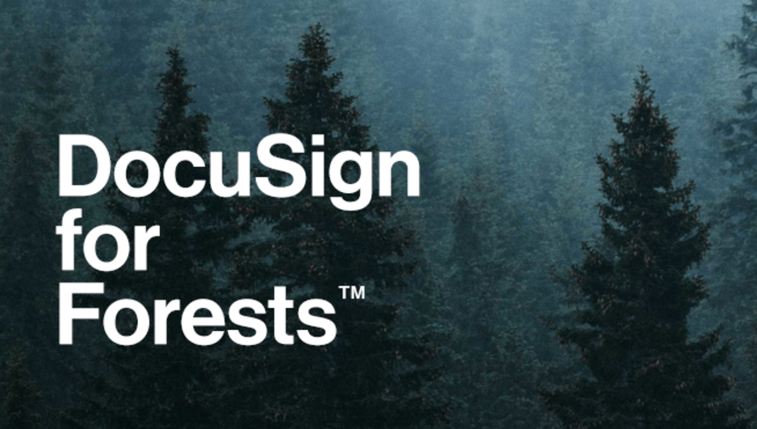 DocuSign for Forests