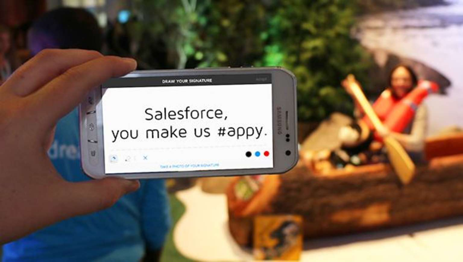 Read about DocuSign's award from Salesforce