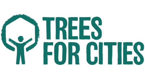Logo for Trees for Cities, an organization DocuSign has partnered up with
